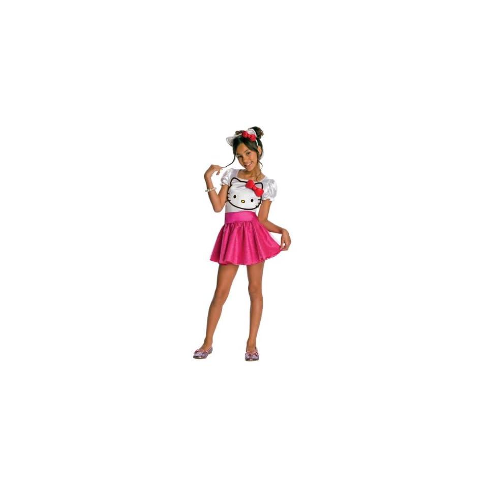 Hello Kitty Tutu Dress Costume   Large