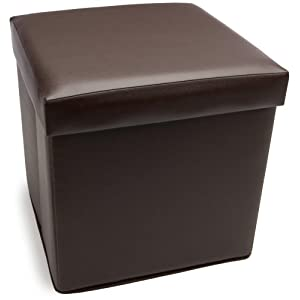 Click to buy Cube Storage Ottoman from Amazon!