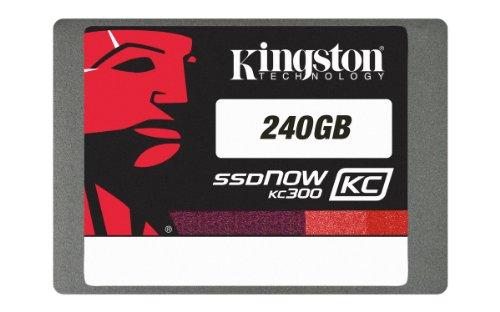 Kingston SKC300S37A/240GB interne SSD-Festplatte 240GB (6,4 cm (2,5 Zoll), MLC, SATA III) schwarz