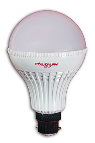 Powerlay 7W LED Bulb (White, Pack of 3)