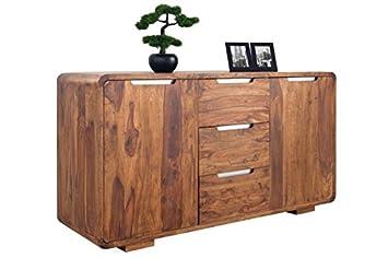 DuNord Design PANAJI, Credenza, 145 cm, in legno massiccio