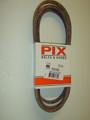 754-04060, 954-04060, 954-04060B, Replacement belt made with Kevlar. For MTD, Cub Cadet, Troy Bilt, White, YardMan