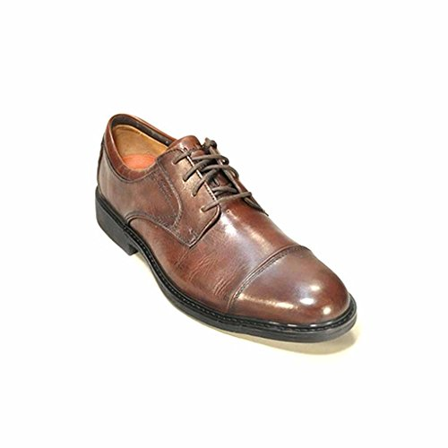 Clarks Men's Olaf Oxford,Brown,10.5 M US