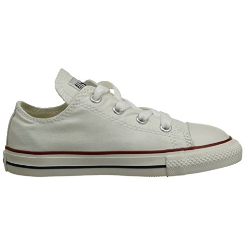 Converse Chuck Taylor All Star OX Shoe - Toddler Girls' Optical White, 6.0 (Converse Work Shoes compare prices)
