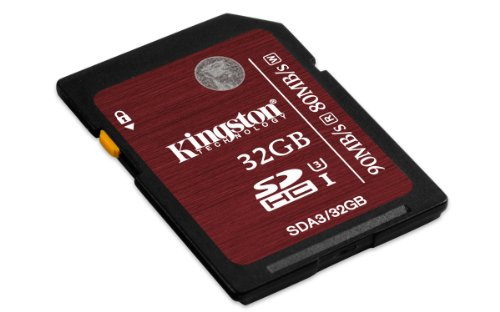 Discover Bargain Kingston Digital Kingston Digital 32GB SDHC UHS-I Speed Class 3 Flash Card (SDA3/32...