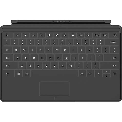 Microsoft Surface Touch Cover Keyboard - Black (D5S-00001) (Microsoft Touch Cover 2 compare prices)