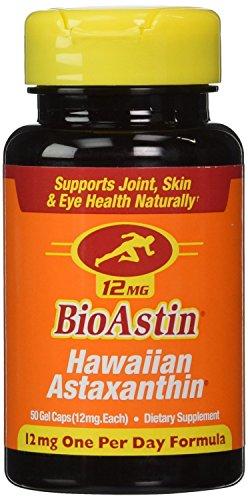 Nutrex Hawaii BioAstin Hawaiian Astaxanthin 12mg 50 Gelcaps (Pack of 3)