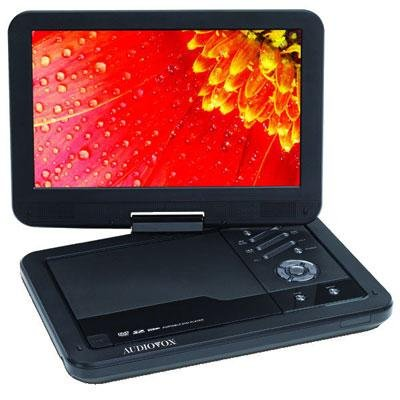 Audiovox Ds2038 10.1-Inch Swivel Portable Dvd Player, Digital Panel
