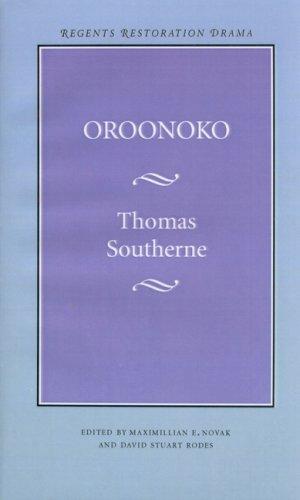 Oroonoko (Regents Restoration Drama)