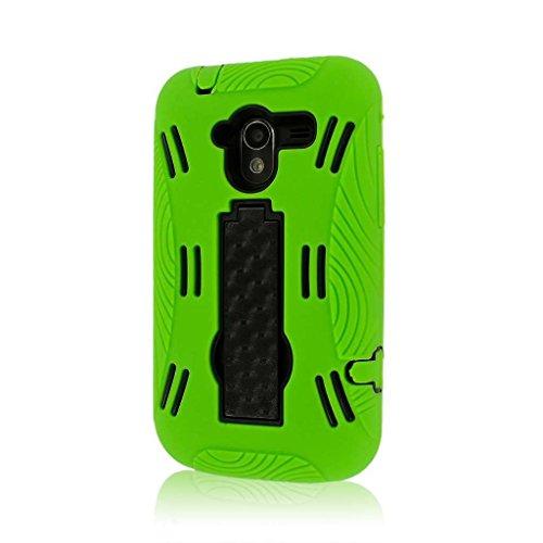 EMPIRE Mpero serie Impact XL - Cover con supporto per ZTE Avid 4G N9120, colore: verde neon