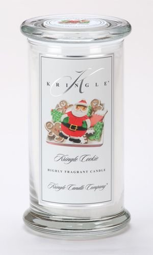 Kringle Candle Company Large Classic Apothecary Jar - Kringle Cookie