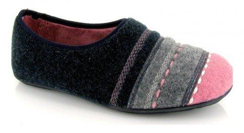 VUL-LADI, Pantofole donna blu blu Size: 36