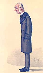 DIPLOMATS: THORNTON Ambassador.Russia. Vanity Fair Spy cartoon 1886