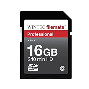 Wintec Filemate 16 GB Professional Class 10 Secure Digital SDHC Card
