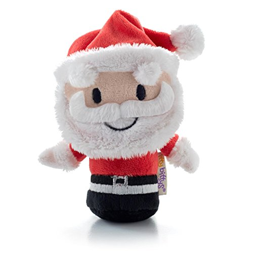 Hallmark Christmas XKT1437 Santa Claus Itty Bitty Plush
