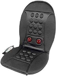 Wagan 9989 Car Automobile Infra-Heat 12 Point Massage Cushion