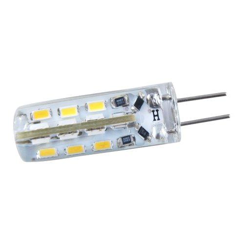 Thg 1X Pure White Ledwholesalers Disc Type G4 3528 Base Side Pin 24 Smd Led Dc 12V Corn Light Silica Gel Waterproof