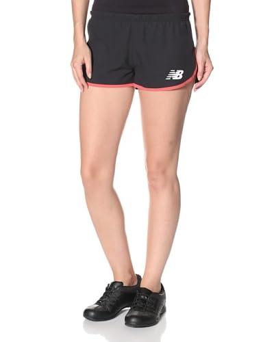New Balance Women's Split Short  - Black