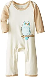 Touched by Nature Baby-Boys Organic Owl Romper
