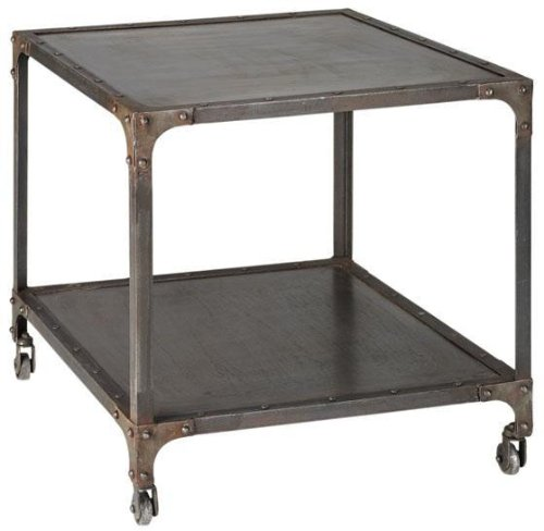 Cheap Industrial Side End Table (B003VV05S2)