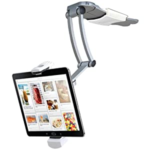 CTA Digital 2-In-1 Kitchen Mount Stand for iPad Air/iPad mini and All Tablets (PAD-KMS)