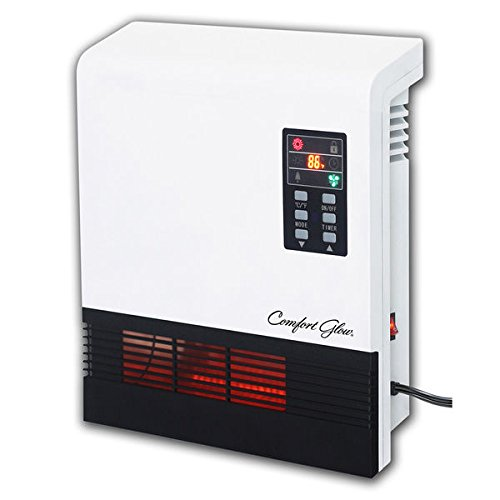 Comfort Glow 5200BTU Quartz Wall Heater - White, 750W and 1500W power settings (Wall Mount Indoor Propane Heater compare prices)