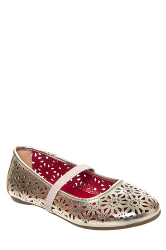 Kenneth Cole May To Side 2 Perforated Ballet Flat Shoe