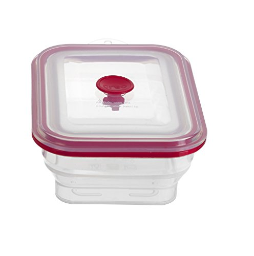Creo Collapsible Airtight Food Storage Containers, Freezer to Oven Safe, 1500ml