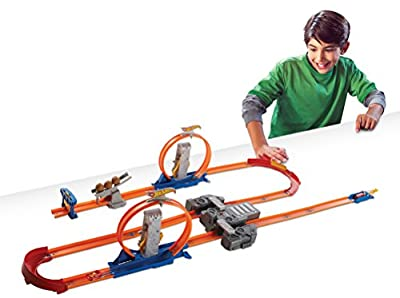 Hot Wheels Track Builder Total Turbo Takeover Track Set by Mattel - Import (Wire Transfer)