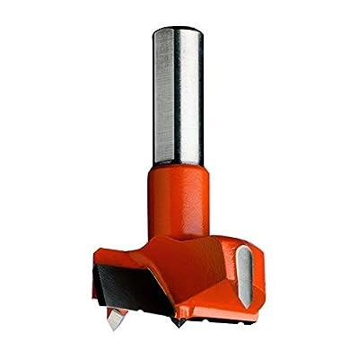 CMT 317.350.11 Hinge Boring Bit, 35mm (1-3/8-Inch) Diameter, 10x26mm Shank, Right-Hand Rotation