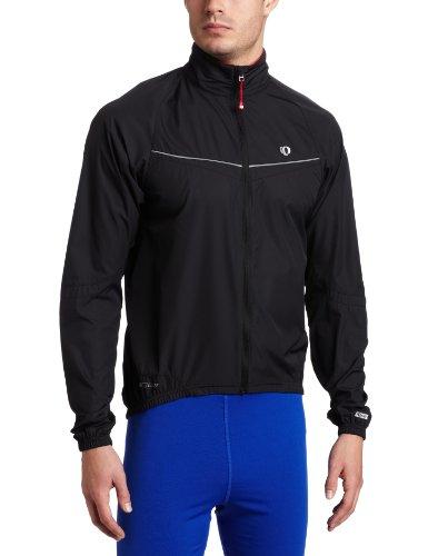 Pearl Izumi 2011 Men's Elite Barrier Cycling Jacket - 11131015 (Black/Black - S)