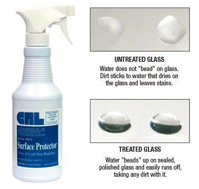 CRL TPC (Transparent Polymer Coating) Surface Protector - 16 oz Bottle (Shower Glass Door Protector compare prices)