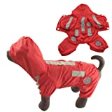 Dogloveit Waterpoof Nylon High Quality Dog Raincoat for Puppy and Small Dog Cat