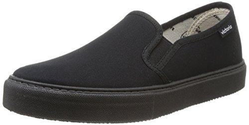 Calego - Slip On Lona Piso, Sneakers  da unisex adulto, nero(noir (negro)), 40