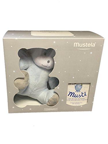 Mustela Musti House Box Care Water 50ml Eau de Soin + Teddy Bear - Model : Boy