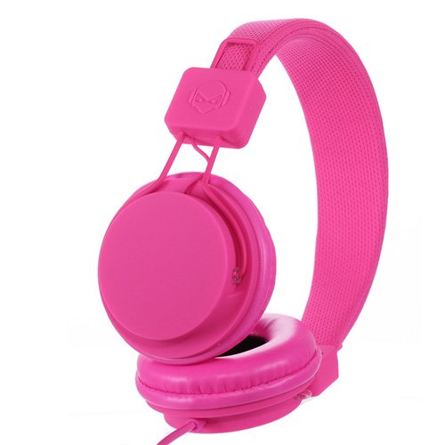 Subjekt Tnt-Qm1258 Tnt Headphones With Microphone - Retail Packaging - Hot Pink