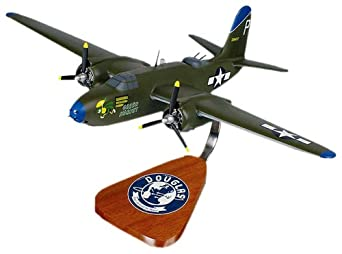 A-20 Havoc, Solid Nose Wood Model Airplane
