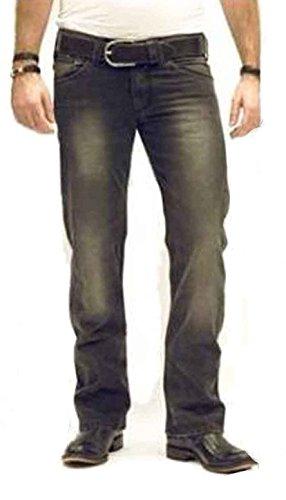 Energie Oro Jeans Pantaloni Uomo Slim Morris Usato - Nero, 27W / 32L, Nero