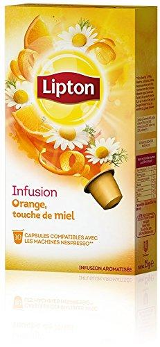 Purchase LIPTON Chamomile, Orange and a touch of Honey (Nespresso Compatible TEA Capsules) - 10 caps / box - 60 caps TOTAL - LIPTON - UNIVER