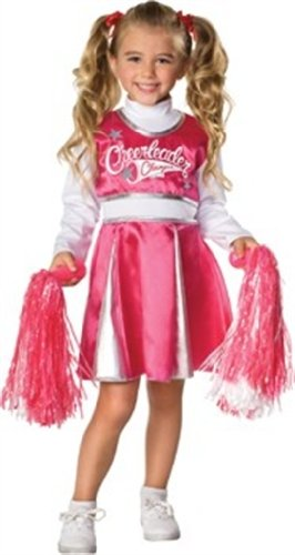 Let'S Pretend Child'S Cheerleader Camp Costume, Medium front-931533