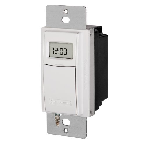 Intermatic St01C White Self Adjusting Wall Switch Timer