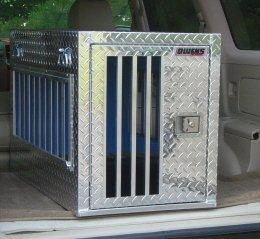 escape artist aluminum dog crate