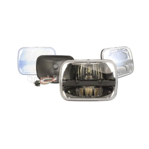 Truck-Lite 27450C 5'' X 7'' Rectangular Led Headlamp, Complex Reflector Optics