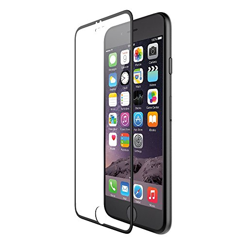 """Iphone 6 Screen Protector, Ivapo [Full Screen Protection 100% Coverage] Iphone 6 4.7 """" Hd Clear Screen Protectors **Tempered Glass** 9H Scratch Resistance & Anti Fingerprint & Anti Glare & High Sensitivity Touch Ultra Slim Perfect Fit For Apple Iphone 6 ("""