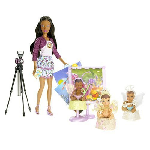 Barbie I Can Be... Baby Photographer Playset (African American) - Buy Barbie I Can Be... Baby Photographer Playset (African American) - Purchase Barbie I Can Be... Baby Photographer Playset (African American) (Mattel, Toys & Games,Categories,Dolls,Baby Dolls)