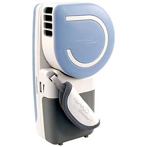 The Original Handy Cooler Small Fan & Mini-Air Conditioner, Blue