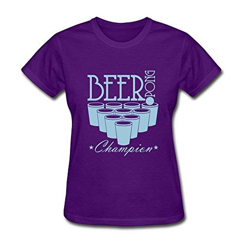 Tbtj-O Women'S Beer Pong Champion Tshirts