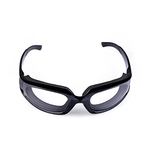 Delidge Premium Tear Free Eye Endurance Onion Goggles for Home Household Kitchen Use, Black (Cool Household Gadgets compare prices)