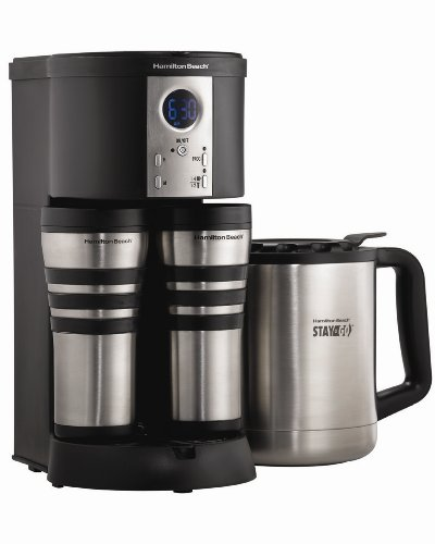 Hamilton BeachStay or Go Digital Thermal Coffeemaker