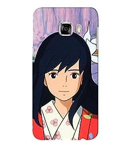 EPICCASE chinese girl Mobile Back Case Cover For Samsung C5 (Designer Case)